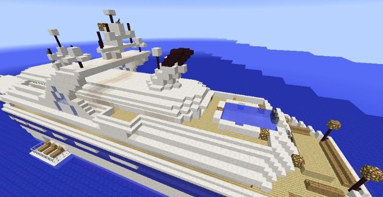 Карты для майнкрафт яхта