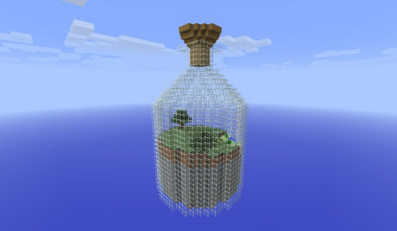 Карта World in a Jar