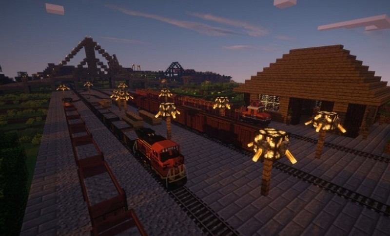 Мод Traincraft
