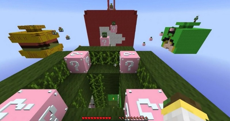 Мод Lucky Block Pink
