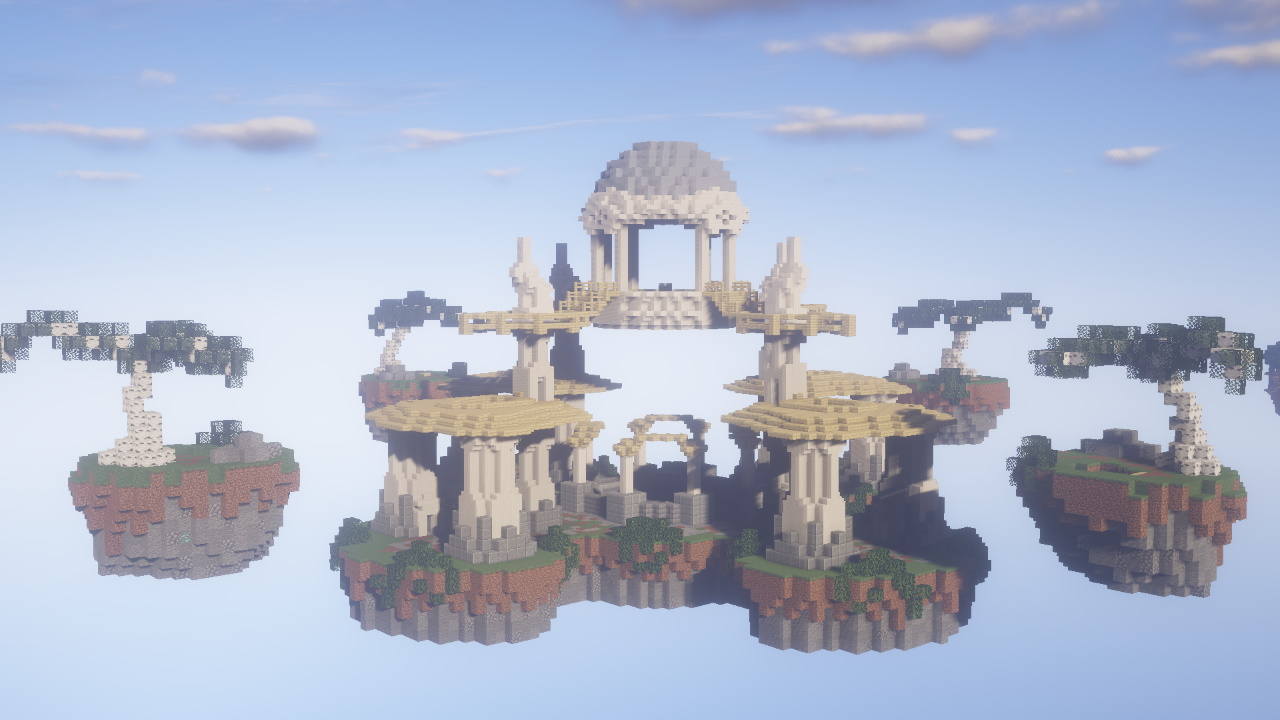 Vertex Skywars для Minecraft